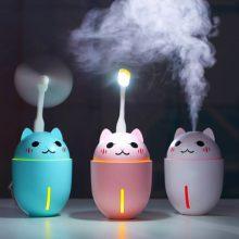 抖音同款萌宠猫咪加湿器,DIY定制实用创意礼物