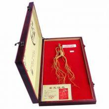 长白山野生人参礼盒,送给长辈的精品级健康礼品