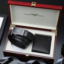 卓梵阿玛尼皮带钱包礼盒,送老公的实用礼物