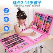 儿童绘画彩笔套装礼盒,176支画笔激发孩子创作天赋