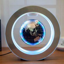 磁悬浮地球仪摆件,够炫酷高颜值的黑科技礼物