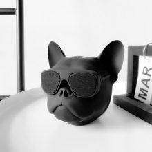 创意狗头无线蓝牙音箱,送给朋友的恶搞礼物