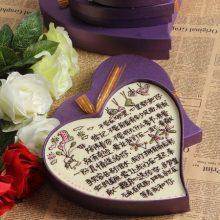 创意手工心形情书巧克力,一款用巧克力写的美味情书