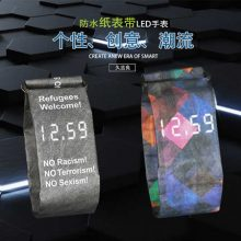 Cajiso新型创意纸手表,不怕水撕不烂的德国黑科技