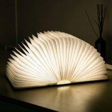 创意浪漫折叠翻书灯,可支持刻字的专属礼物