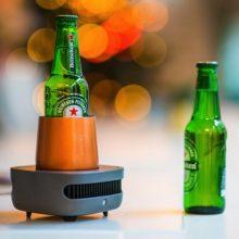 超强CupCooler速冷杯,一分钟内把饮料降低至-18℃