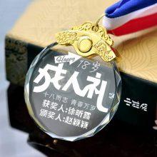 DIY定制水晶奖牌,送给自己十八岁的成人礼
