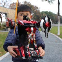 手势感应变形金刚汽车,送男孩儿童的最好玩具