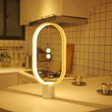 抖音创意磁吸平衡灯,智能磁力悬浮(吸在一起才亮)